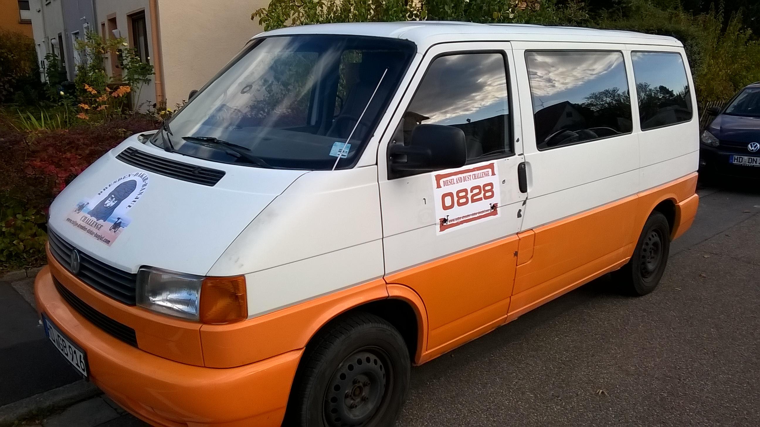 VW-Bus vorne